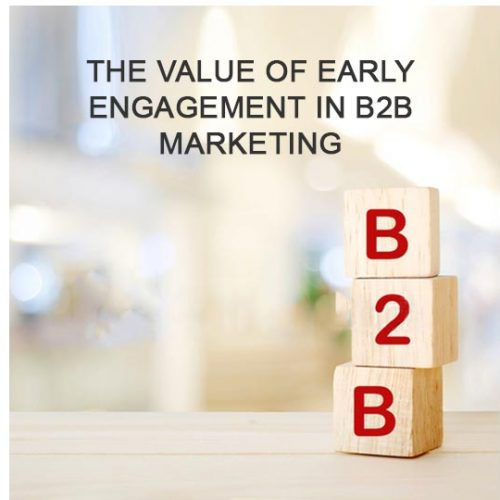 Disrupt your prospects - the value of early engagement in B2B marketing, from Forrest Marketing Group