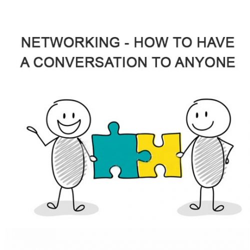 Newtworking how to have a conversation with anyone. Forrest Marketing Group