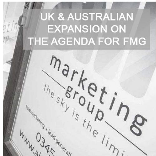 UK & Australian expansion on the agenda for Forrest Marketing Group