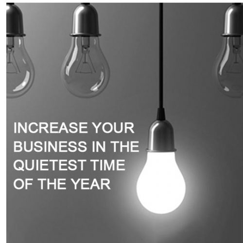 Want to increase your business during the quietest time of the year from Forrest Marketing Group Blog