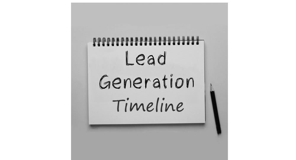 Your Lead generation timeline from Forrest Marketing Group