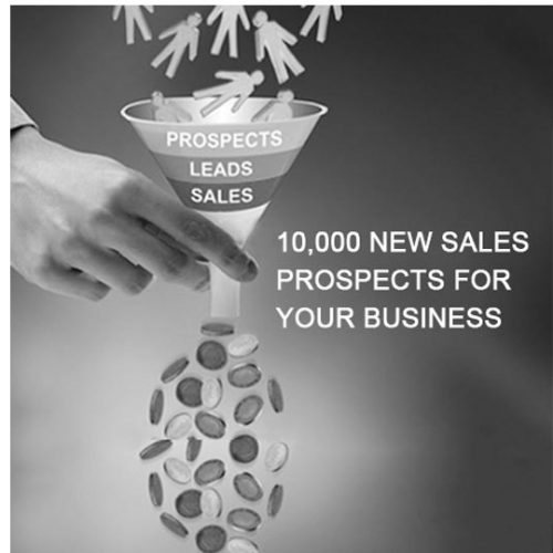 Forrets Marketing Group, 10,000 new sales prospects do for your business