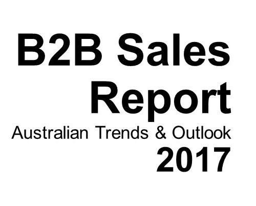Forrest Marketing Group 2017 B2B Sales Report