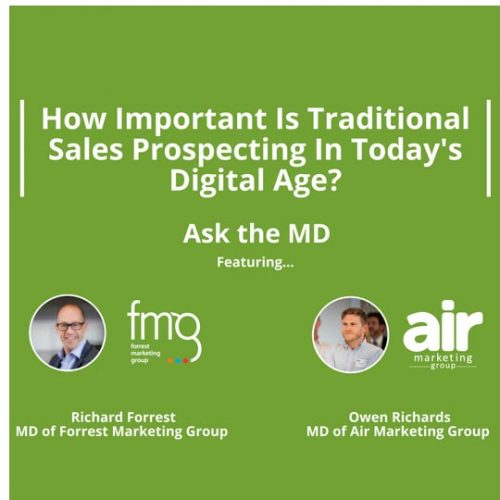 Traditional Sales Prospecting in Digital Age