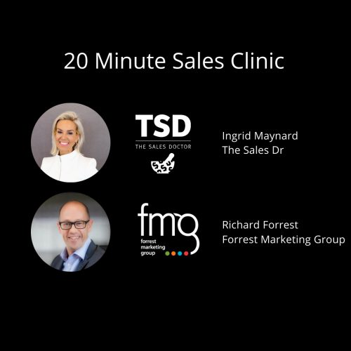 20 minute Sales Clinic
